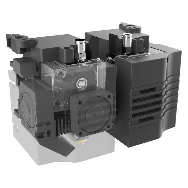 Raise-3D-FDM–e2-3D nyomtató-extruder-teszt-ár-3Dee
