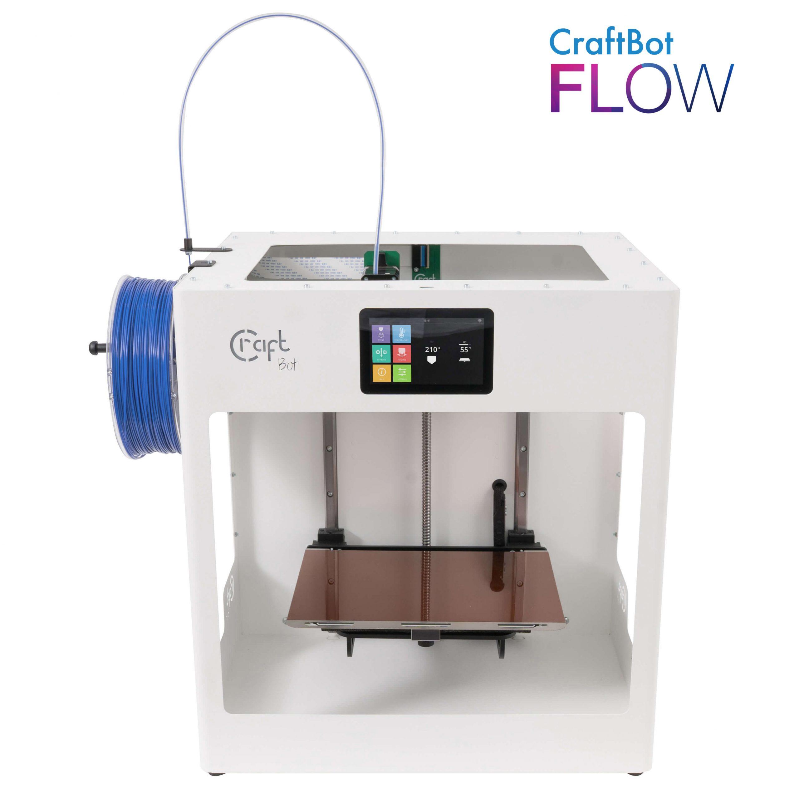 craftbot-flow-3D nyomtató-shop-store-vásárlás-1-teszt-ár-3Dee