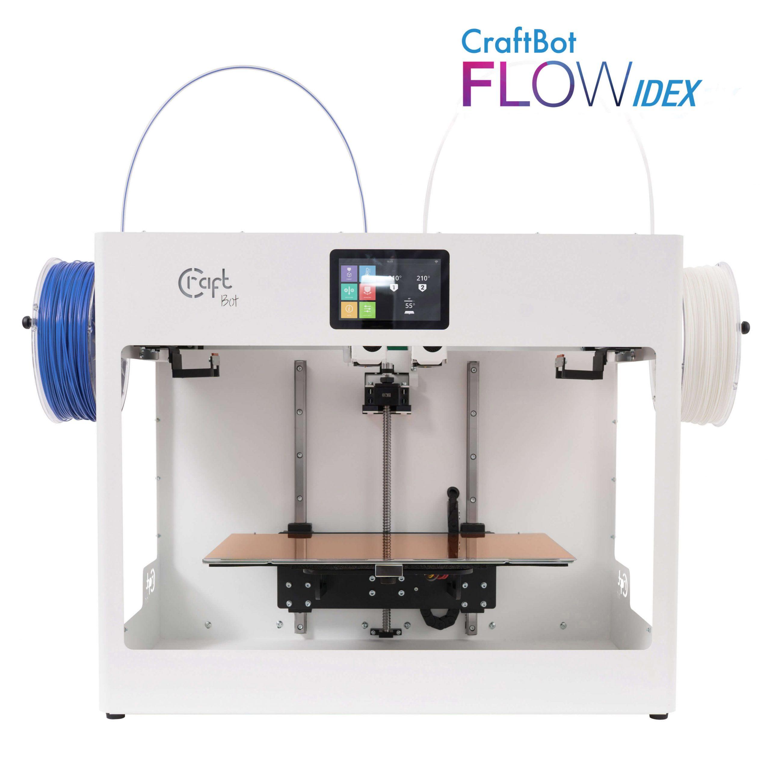 craftbot-flow-idex-3D nyomtató-shop-store-vásárlás-teszt-ár-3Dee