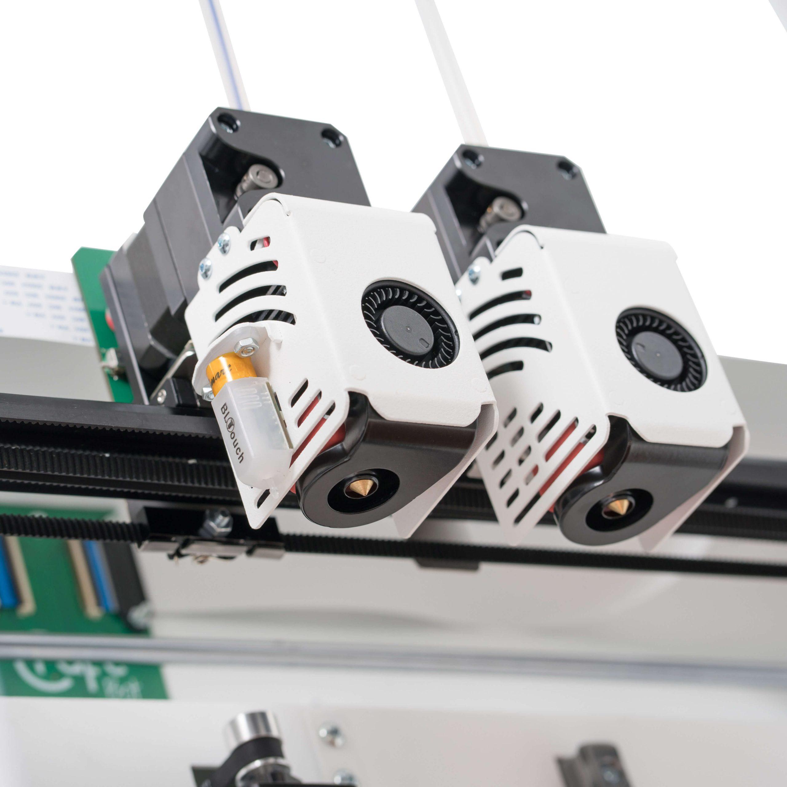 craftbot-flow-idex-xl-3D nyomtató-extruder-teszt-ár-3Dee