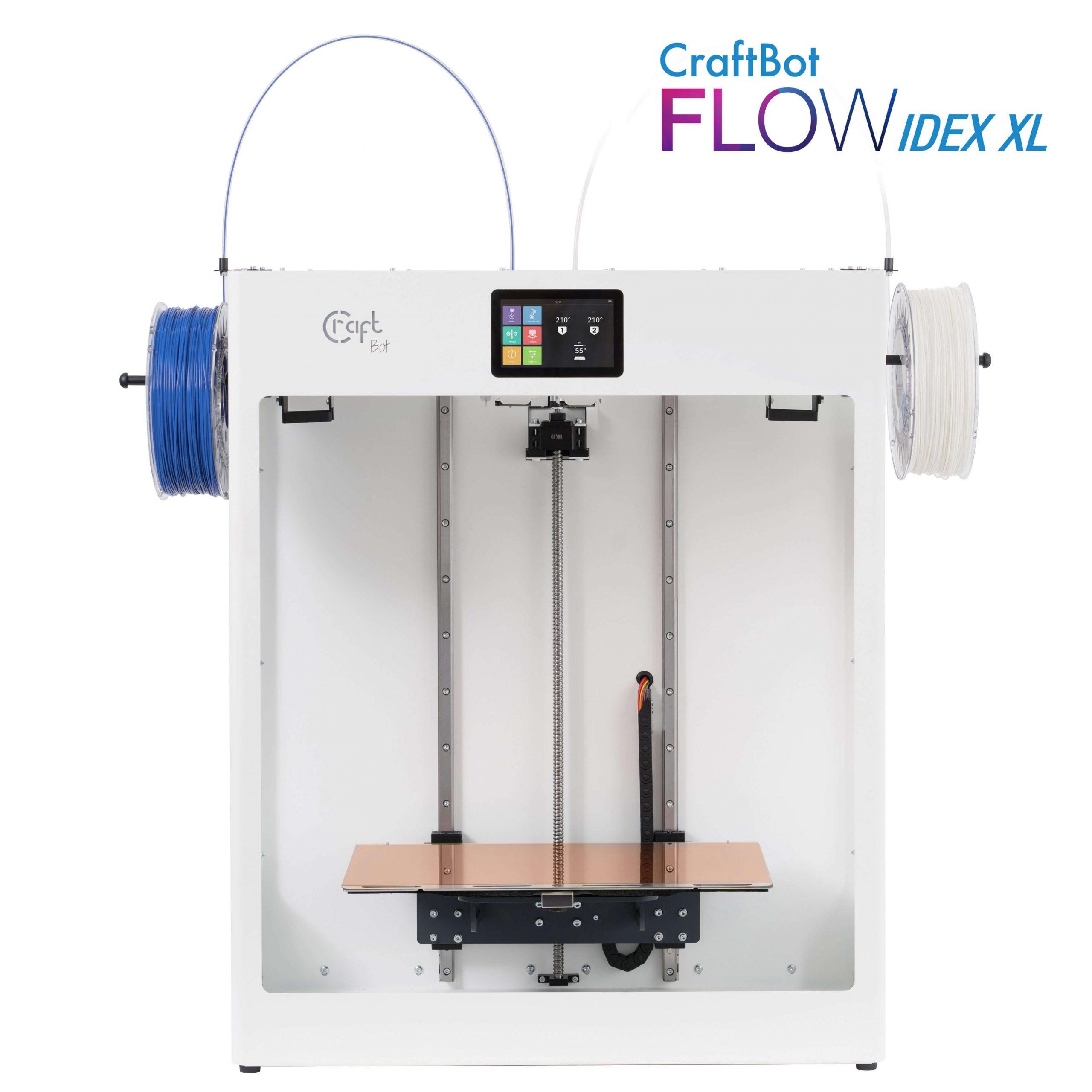 craftbot-flow-idex-xl-3D nyomtató-shop-store-vásárlás-Budapest-teszt-ár-3Dee