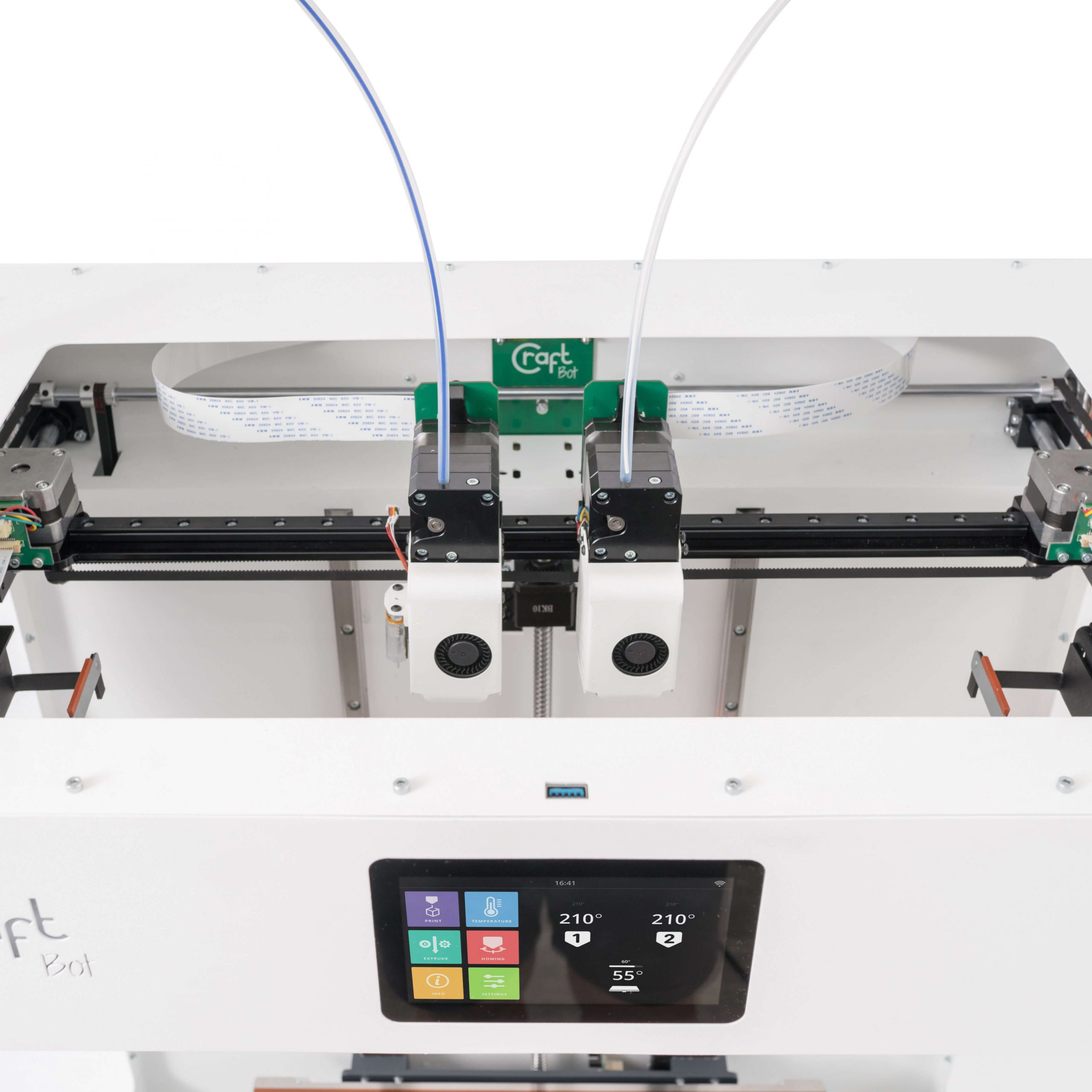 craftbot-flow-idex-xl-3D nyomtató-váz-teszt-ár-3Dee
