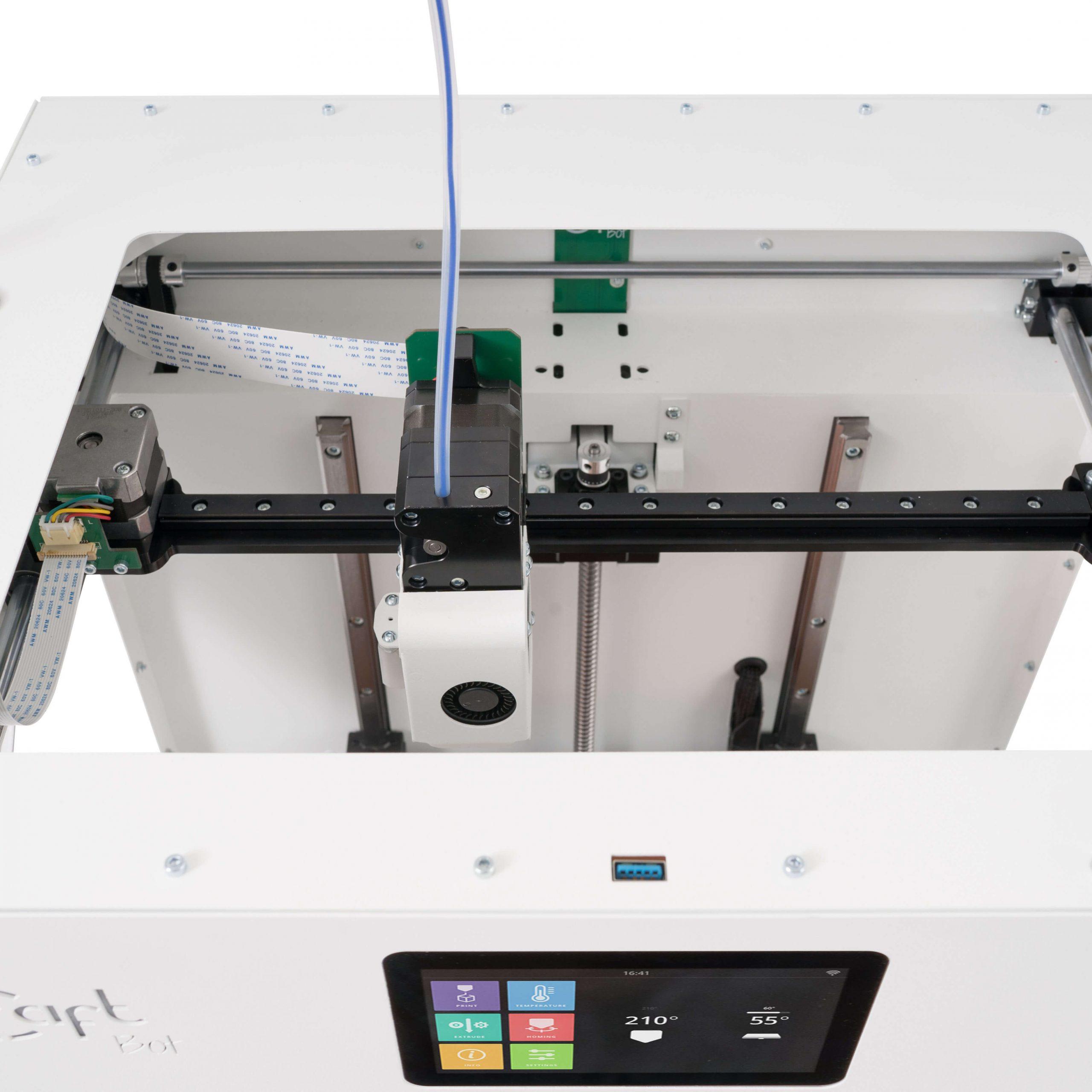craftbot-flow-xl-3D nyomtató-mechanika-teszt-ár-3Dee
