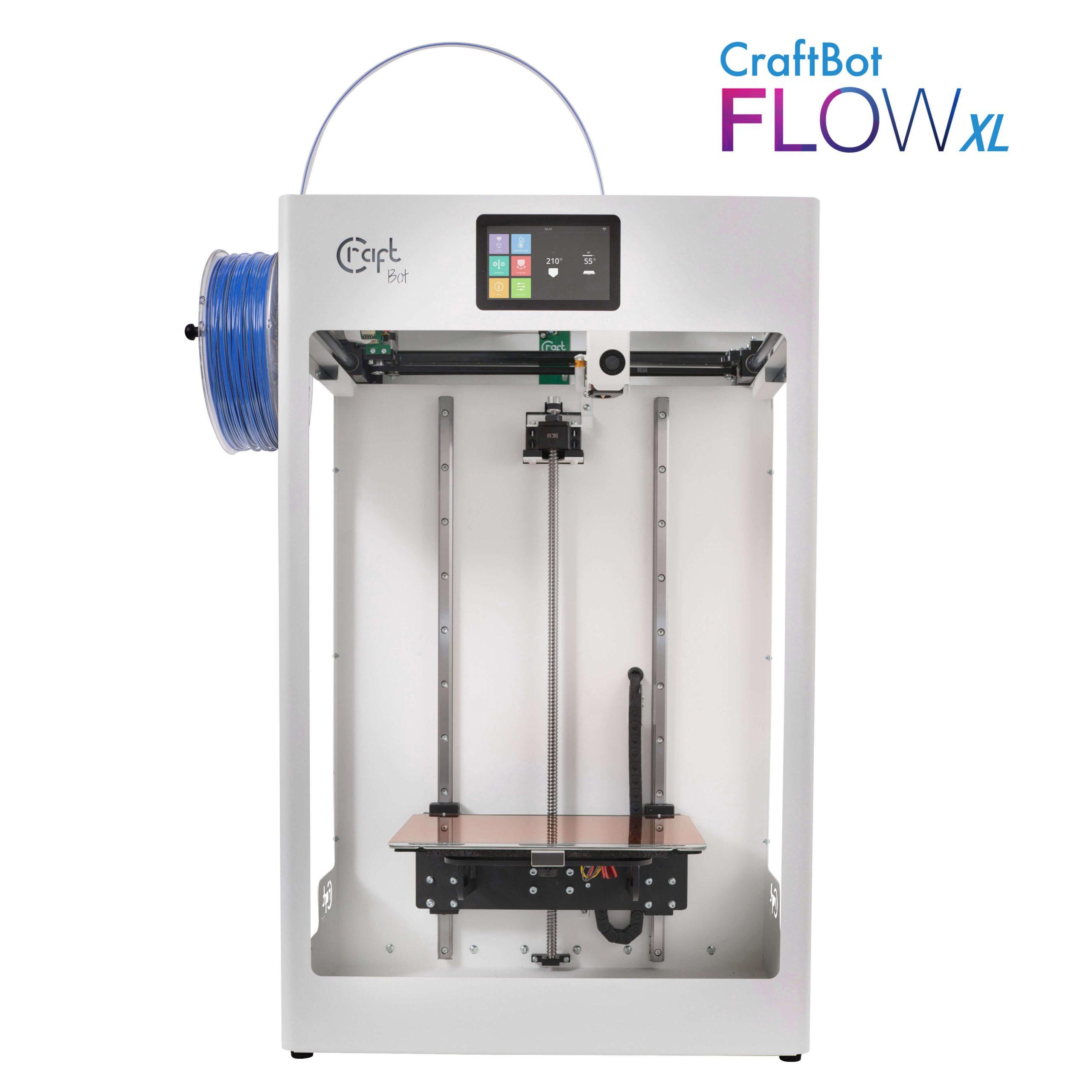 craftbot-flow-xl-3D nyomtató-shop-store-vásárlás-Budapest-teszt-ár-3Dee