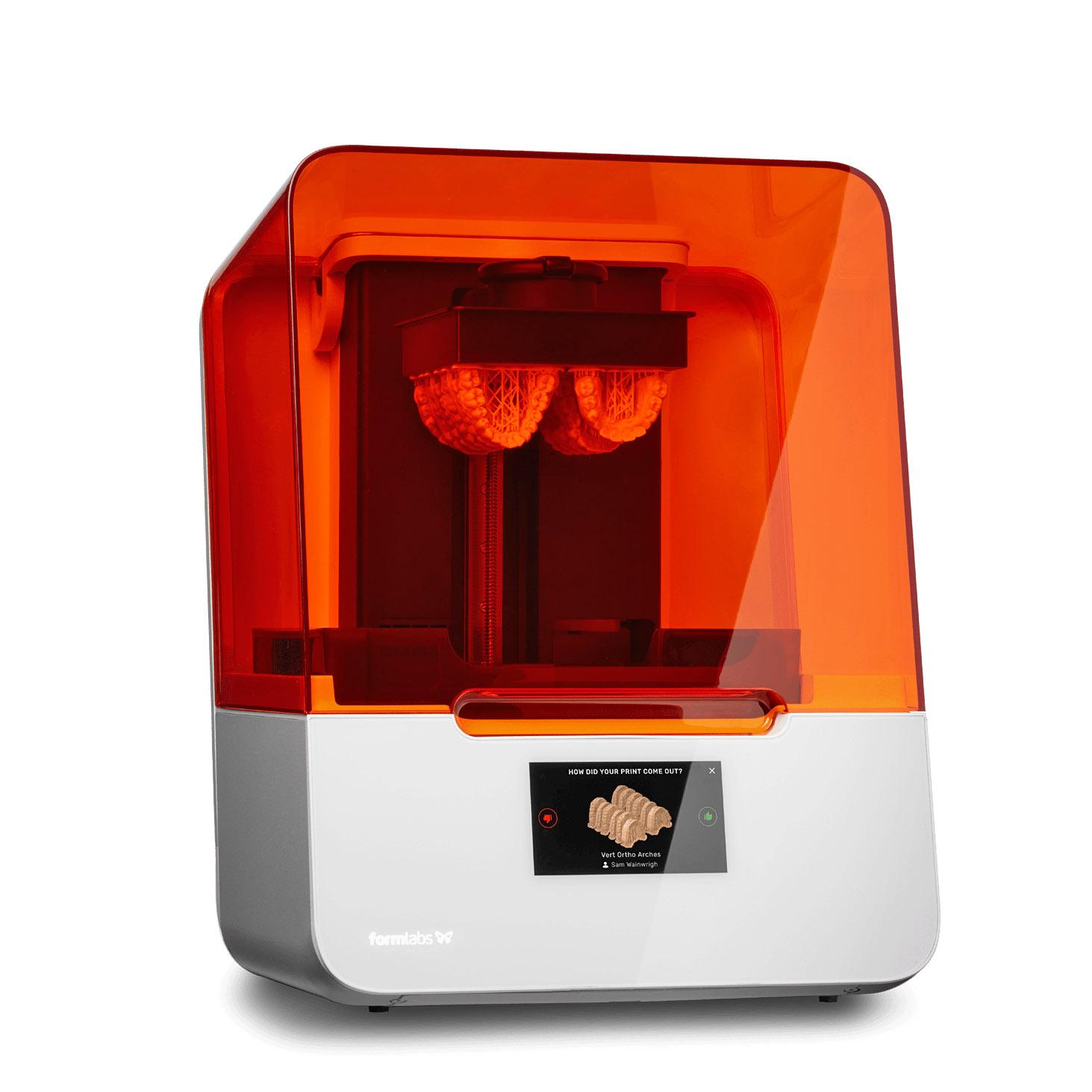 formlabs-form-3b-fogorvosi-3D nyomtató-1-teszt-ár-SLA-3Dee