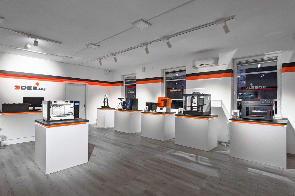3Dee Store Budapest 3D nyomtató Shop